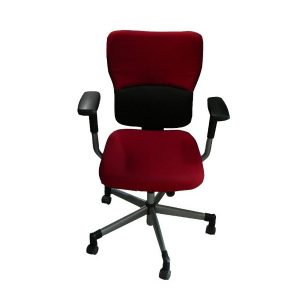 Fauteuil steelcase let's B rouge occasion