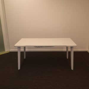 Bureau blanc professionnel Steelcase Movida